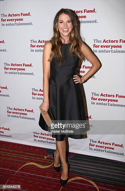 Sutton Foster attends The Actors Fund 2016 Gala at Marriott Marquis Times Square on April 25 2016 in New York City