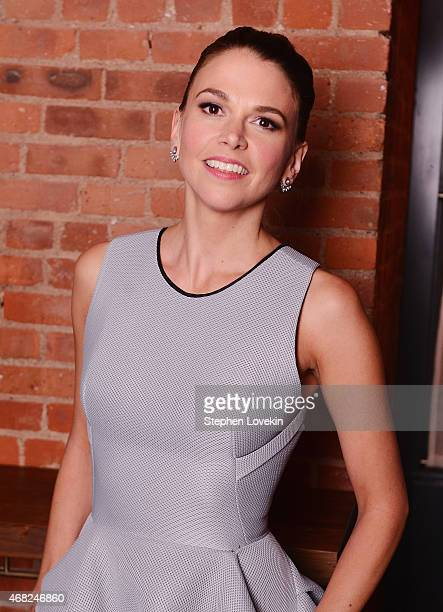 Sutton Foster attends the after party for the premiere of TV Land's Younger at Chef's Club on March 31 2015 in New York City