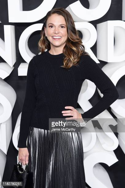 Sutton Foster attends the Nordstrom NYC Flagship Opening Party on October 22 2019 in New York City