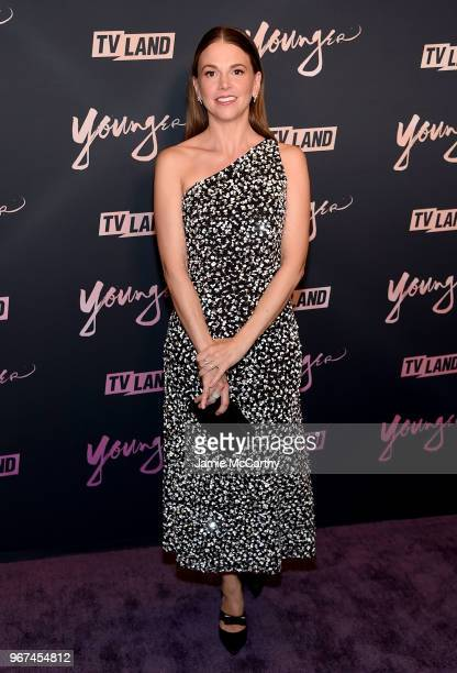 Sutton Foster attends the Younger Season 5 Premiere Party at Cecconi's Dumbo on June 4 2018 in Brooklyn New York