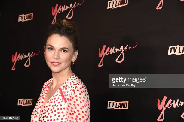 Sutton Foster attends the 'Younger' Season Four Premiere Party at Mr Purple on June 27 2017 in New York City on June 27 2017 in New York City