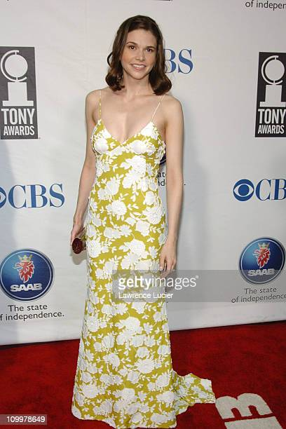 Sutton Foster during 59th Annual Tony Awards Arrivals at Radio City Music Hall in New York City New York United States