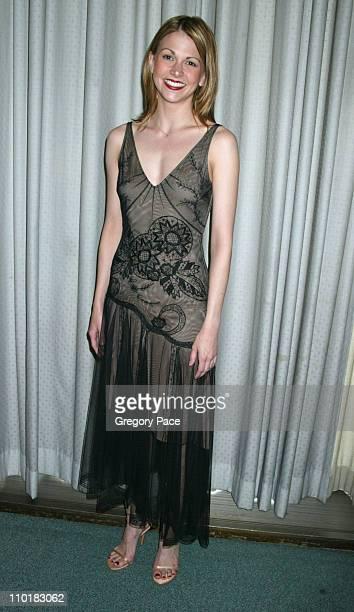 Sutton Foster in a BCBG dress
