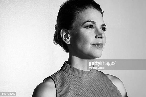 Sutton Foster is photographed for The Wrap on April 19, 2016 in Los Angeles, California.