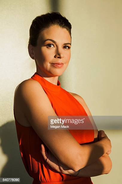 Sutton Foster is photographed for The Wrap on April 19 2016 in Los Angeles California