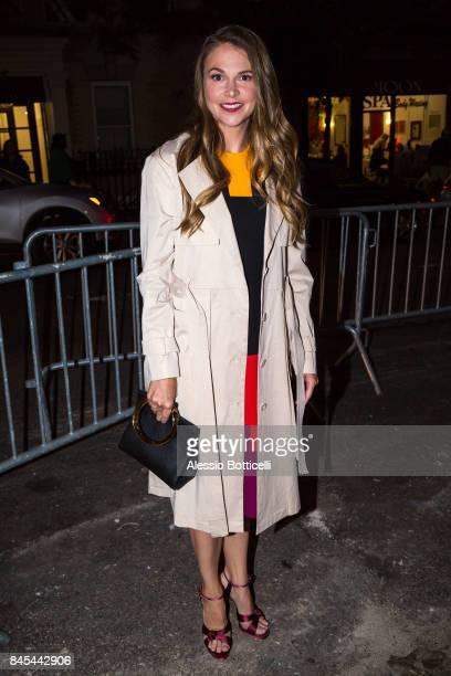Sutton Foster is seen on Upper East Side on September 10 2017 in New York New York