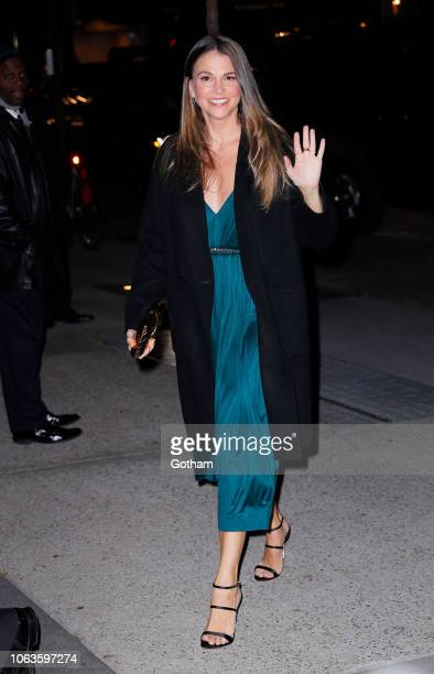 Sutton Foster on November 19, 2018 in New York City.