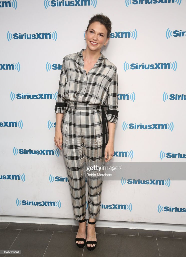 Sutton Foster visits at SiriusXM Studios on June 27, 2017 in New York City.