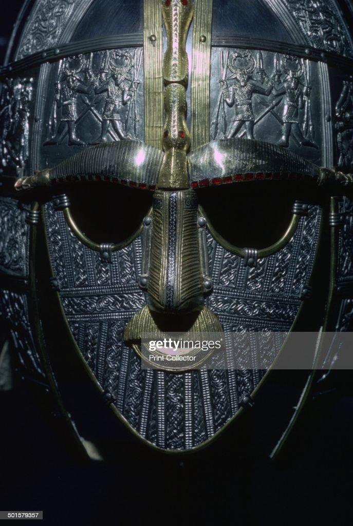 Sutton Hoo Helmet (reconstruction). : News Photo