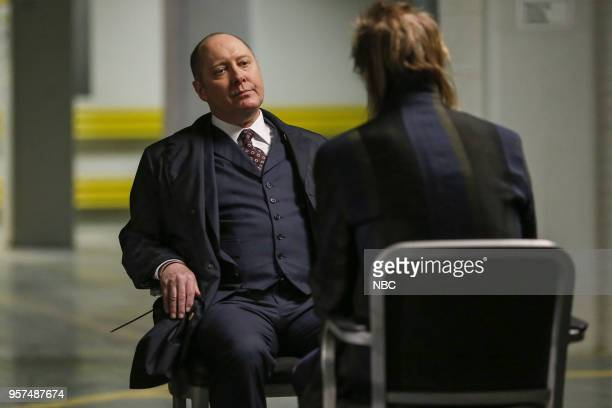 THE BLACKLIST Sutton Ross Episode 522 Pictured James Spader as Raymond Red Reddington