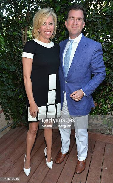 Sutton Stracke and Christian Stracke attend Benjamin Millepied's L.A. Dance Project Inaugural Benefit Gala on June 20, 2013 in Los Angeles,...