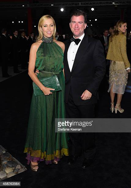 Sutton Stracke and Christian Stracke attend the 2014 LACMA Art + Film Gala honoring Barbara Kruger and Quentin Tarantino presented by Gucci at LACMA...