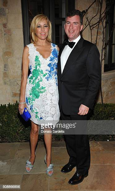 Sutton Stracke and Christian Stracke attend the PSLA Winter Gala on February 6, 2016 in Beverly Hills, California.