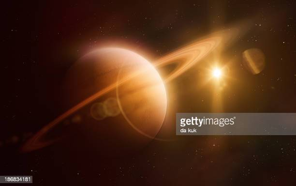 suturn - saturn planet stock photos and pictures
