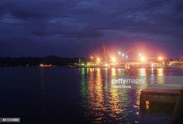 Suva Harbour, Fiji - After Sunset