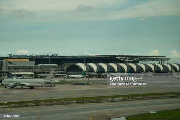 Suvarnabhumi airport in Thailand