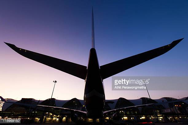 suvarnabhumi airport - suvarnabhumi airport stock pictures, royalty-free photos & images