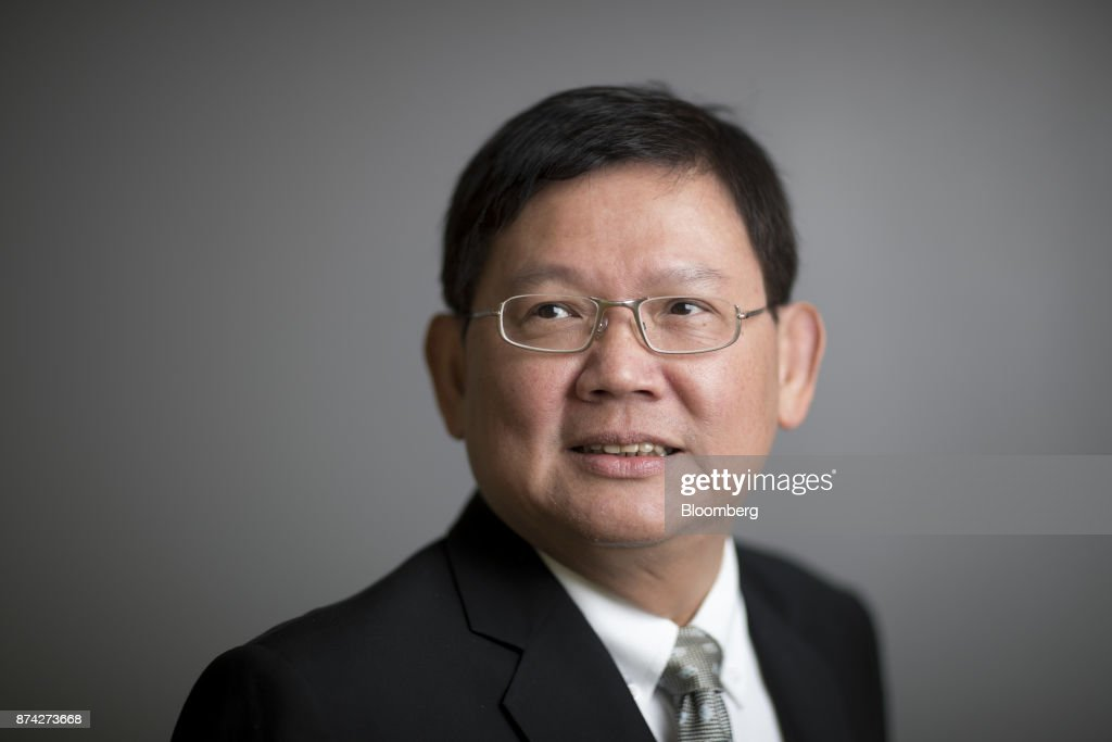 Suvit Maesincee, Thailand's vice minister of the prime minister and an adviser to the minister of finance, poses for a photograph in Bangkok, Thailand, on Friday, Nov. 10, 2017. Suvit said Thailand remains on course for elections next year and that curbs on political parties will soon be eased, as pressure mounts on the military government to roll back restrictions on campaigning. Photographer: Brent Lewin/Bloomberg via Getty Images
