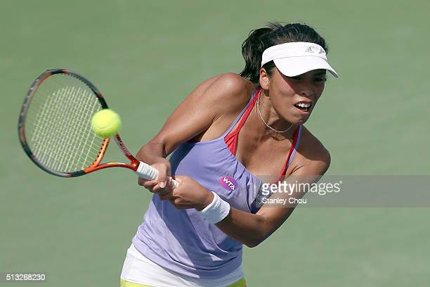 SuWei Hsieh of Chinese Taipei in action during Day Three of the 2016 BMW Malaysian Open at Kuala Lumpur Golf Country Club on March 2 2016 in Kuala...