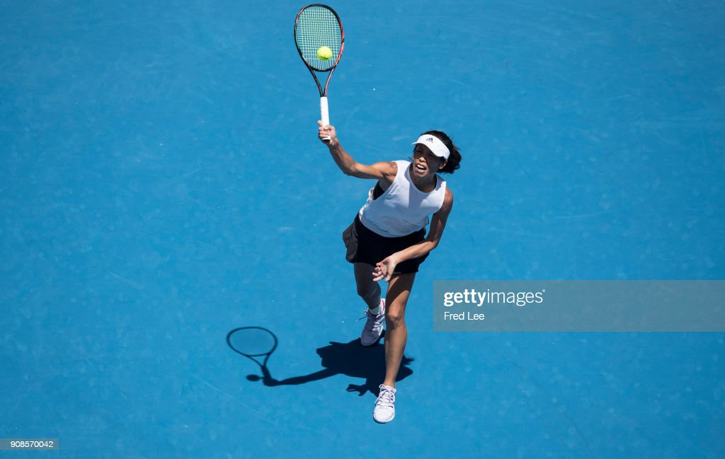 2018 Australian Open - Day 8 : News Photo