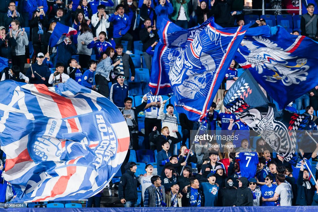 AFC Champions League 2017 - Group Stage - Match Day 4 - Suwon Samsung Bluewings (KOR) vs Eastern SC (HKG) : News Photo