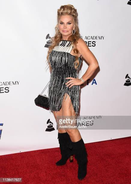 Suzan Hughes attends MusiCares Person of the Year honoring Dolly Parton at Los Angeles Convention Center on February 08 2019 in Los Angeles California