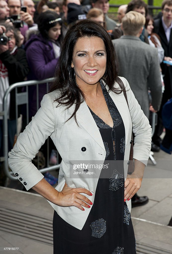 Suzanna Reid attends the 2014 TRIC Awards at The Grosvenor House Hotel on March 11, 2014 in London, England.