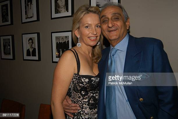 Suzanna Sabet and Hormoz Sabet attend Dr Larry Rosenthal Valentines's and Birthday Party at Fred's at Barney's on February 14 2005 in New York