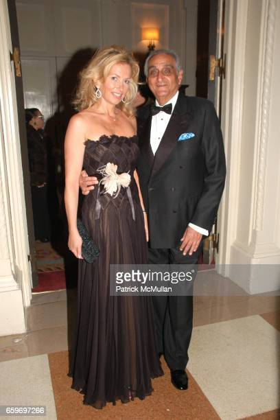 Suzanna Sabet and Hormoz Sabet attend LARRY HERBERT 80TH Birthday Celebration at The Breakers Palm Beach on March 28 2009 in Palm Beach Florida