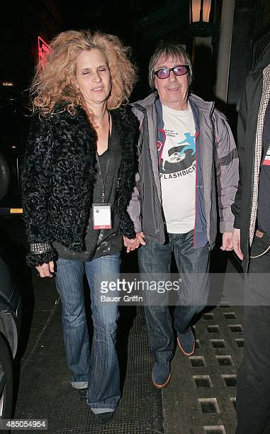 Suzanne Accosta and Bill Wyman are seen attending the 'Boogie for Stu A Tribute to Ian Stewart' a charity concert in memory of The Rolling Stones...