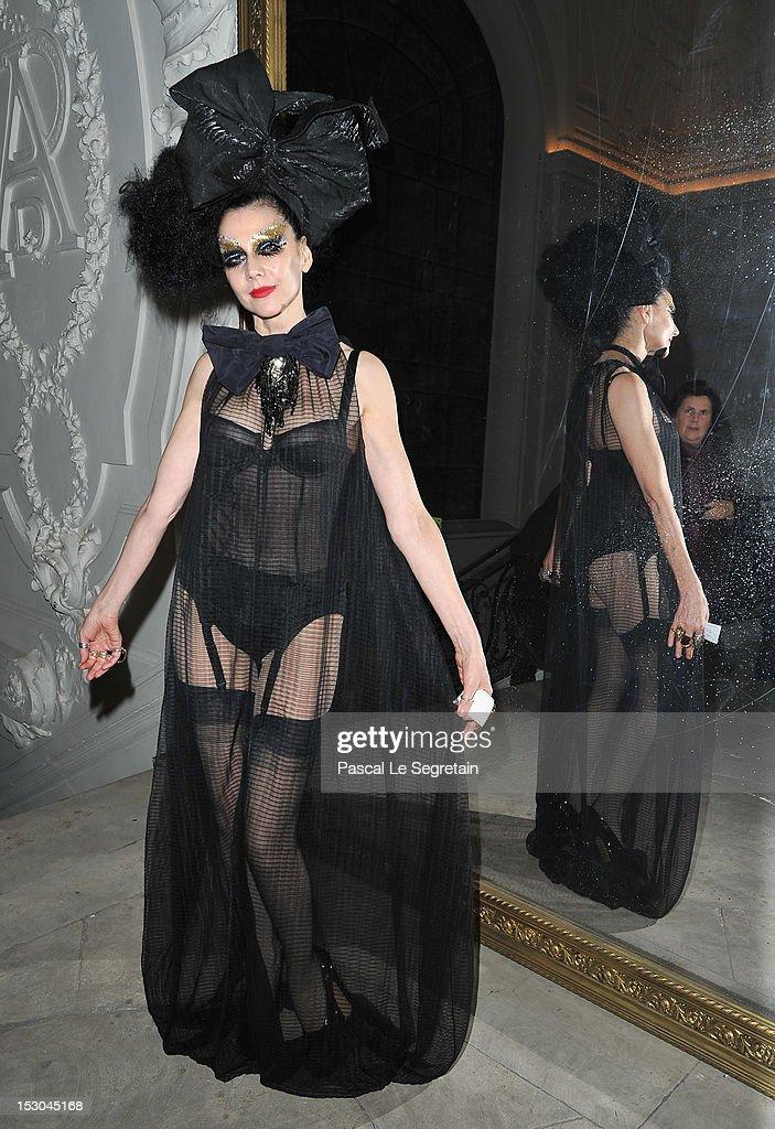 Jean-Paul Gaultier: Front Row - Paris Fashion Week Womenswear Spring / Summer 2013
