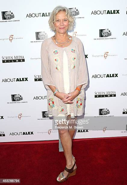 Suzanne Blech attends the Premiere of 'About Alex' at the ArcLight Hollywood on August 6 2014 in Hollywood California