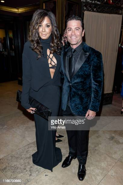 Suzanne Boyd and Yannick Bisson at the 11th APJ Festival Gala on September 07 2019 in Toronto Canada