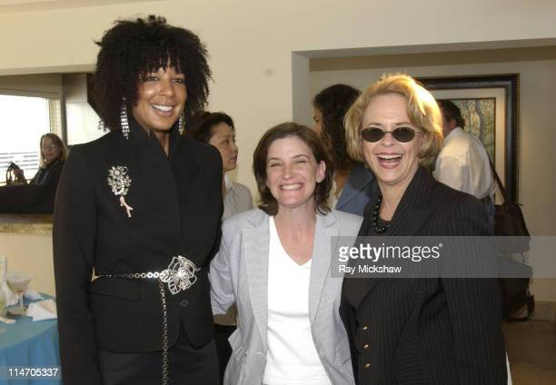 Suzanne Boyd editorinchief of Suede Magazine Paige McCrensky and Ann Moore CEO of Time Inc