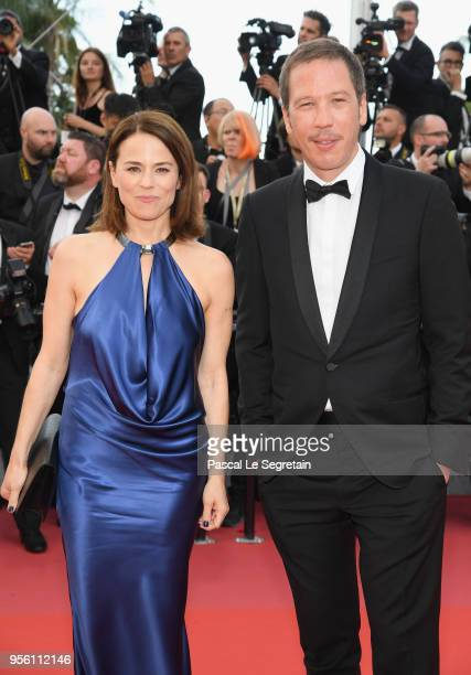 Suzanne Clement and Reda Kateb attend the screening of Everybody Knows and the opening gala during the 71st annual Cannes Film Festival at Palais des...