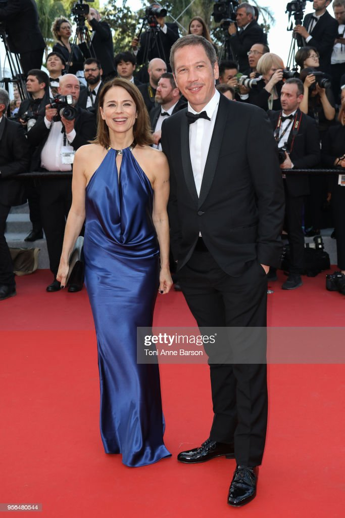Suzanne Clement and Reda Kateb attend the screening of 'Everybody Knows (Todos Lo Saben)' and the opening gala during the 71st annual Cannes Film Festival at Palais des Festivals on May 8, 2018 in Cannes, France.