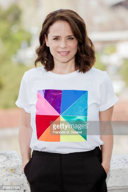 Suzanne Clement attends the 10th Angouleme FrenchSpeaking Film Festival on August 24 2017 in Angouleme France