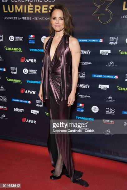 Suzanne Clement attends the 23rd Lumieres Award Ceremony at Institut du Monde Arabe on February 5 2018 in Paris France
