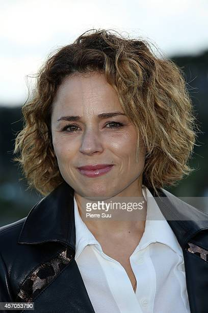 Suzanne Clement attends the Jury Photocall of the 25th Dinard Film Festival on October 11 2014 in Dinard France