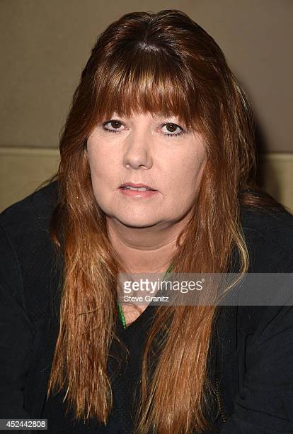 Suzanne Crough Poses at The Hollywood Show Day 2 at Westin Los Angeles Airport on July 20 2014 in Los Angeles California