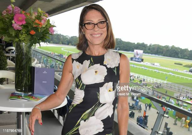 Suzanne Danielle attends the King George Weekend at Ascot Racecourse on July 27 2019 in Ascot England