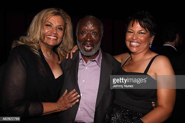 Suzanne De Passe Clarence Avant and Debra Lee attend the Pre Party hosted by Debra Lee in celebration of the BET Awards 2009 at the Drago Centro at...
