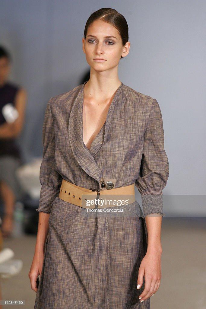 Suzanne Diaz wearing Zero Maria Cornejo Spring 2006