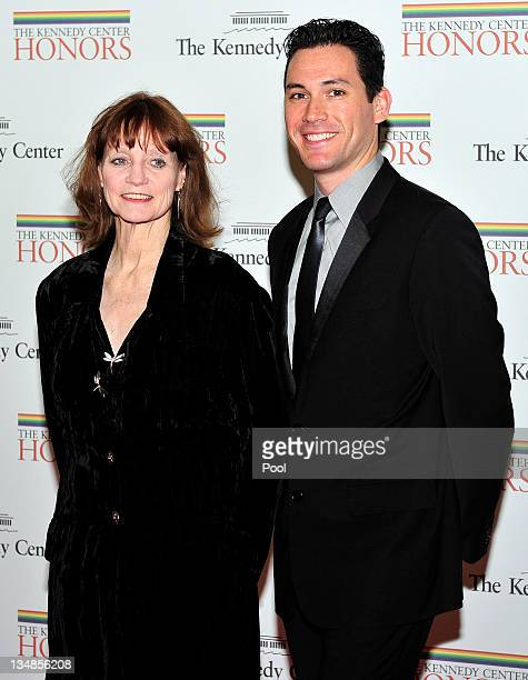 Suzanne Farrell a 2005 recipient of a Kennedy Center Honor and Michael Cook arrive for the formal Artist's Dinner honoring the recipients of the 2011...