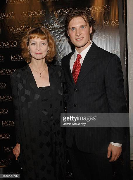 Suzanne Farrell and Kirk Henning attend the Movado Celebrates 60 Years of Modern Design and the 2007 Future Legends Awards Recipients Event at The...