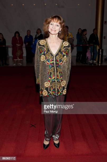 Suzanne Farrell arrives at the 17th Annual Kennedy Center Spring Gala at the Hall of Nations inside the John F Kennedy Center For The Performing Arts...