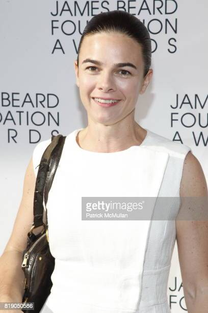 Suzanne Goin attends James Beard Foundation Awards 2010 at Lincoln Center on May 3 2010 in New York City