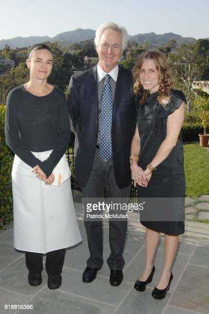 Suzanne Goin Ric Kayne and Caroline Styne attend The 25th Annual LACMA Collectors Committee Weekend An Intimate Dinner at the Home of Suzanne and Ric...