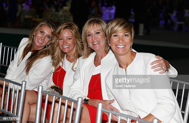 Suzanne Hannemann Tabitha Furyk Robin Love and Angie Watson of the United States pose for a picture during the opening ceremony of the 2015...
