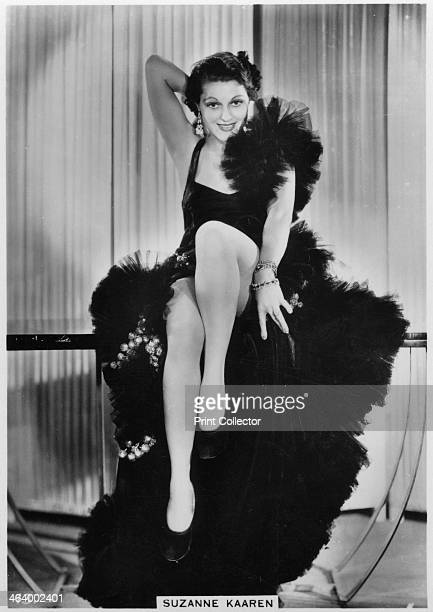 Suzanne Kaaren American Bmovie actress c1938 Suzanne Kaaren appeared in numerous horror movies westerns and romances in the 1930s and 1940s Cigarette...